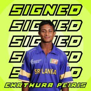Chathura Peiris Signs